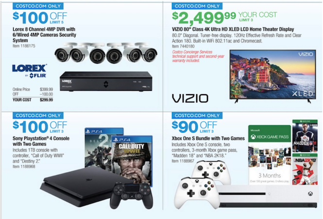 Costco Offering Up Some Great System Bundles For Black Friday