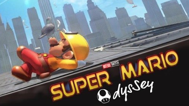 Super Mario Odyssey Fans Have Recreated More Movie Posters