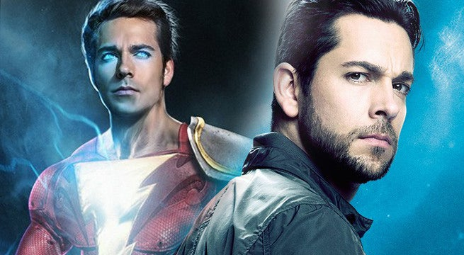 Zachary Levi On When The Official 'Shazam!' Suit Reveal Is Coming