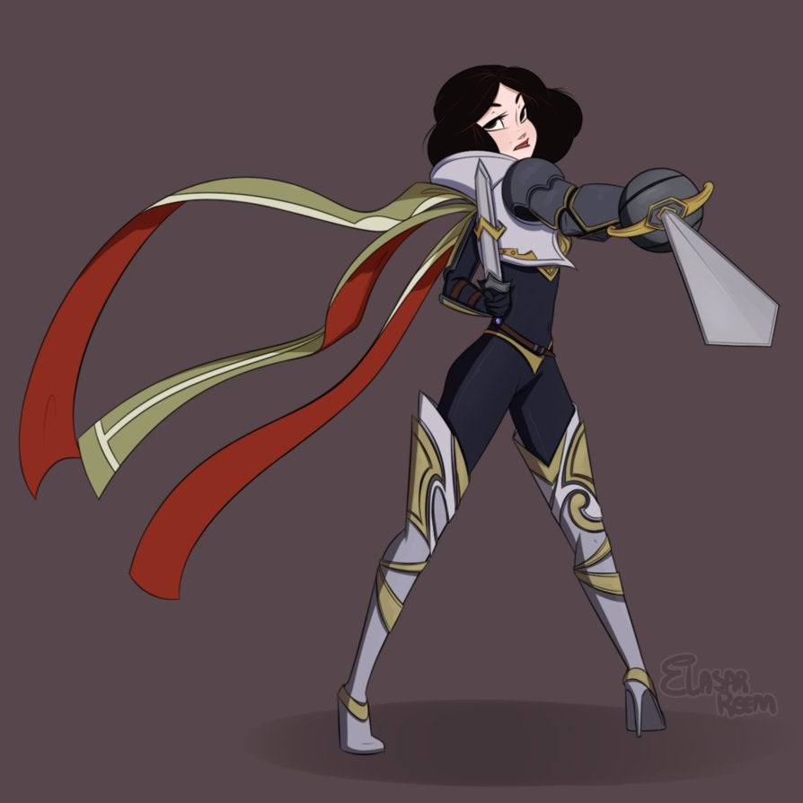 snow white  the grand duelist by dreemers-d82vygd