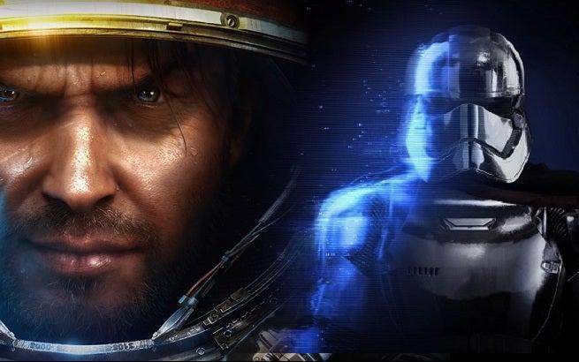Star Craft II Star Wars Battlefront