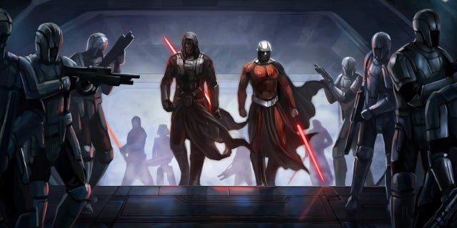 Star Wars Knights of the Old Republic Movie Trilogy