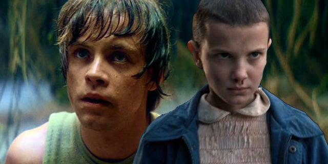 star wars stranger things eleven luke skywalker