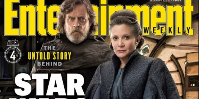 Four 'Star Wars: The Last Jedi' Enterainment Weekly Covers Revealed
