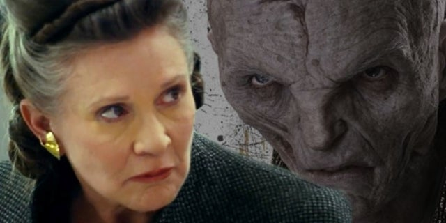 Snoke and Leia Strategize in New 'Star Wars: The Last Jedi' TV Spot