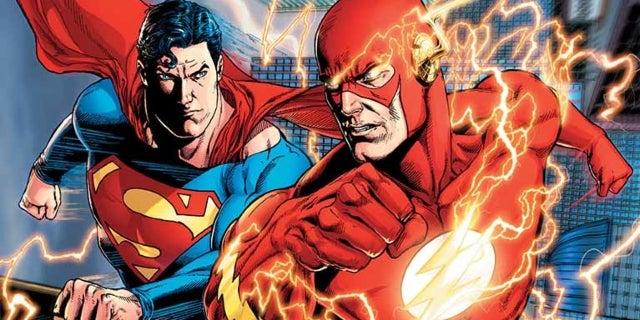 superman flash faster