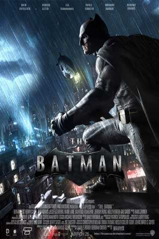 The Batman movie poster image