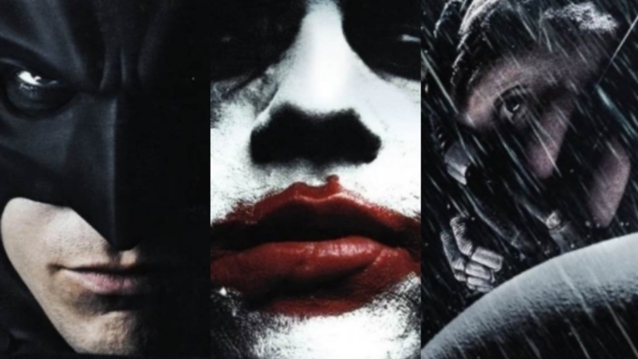 The Dark Knight trilogy 4K comicbook.com