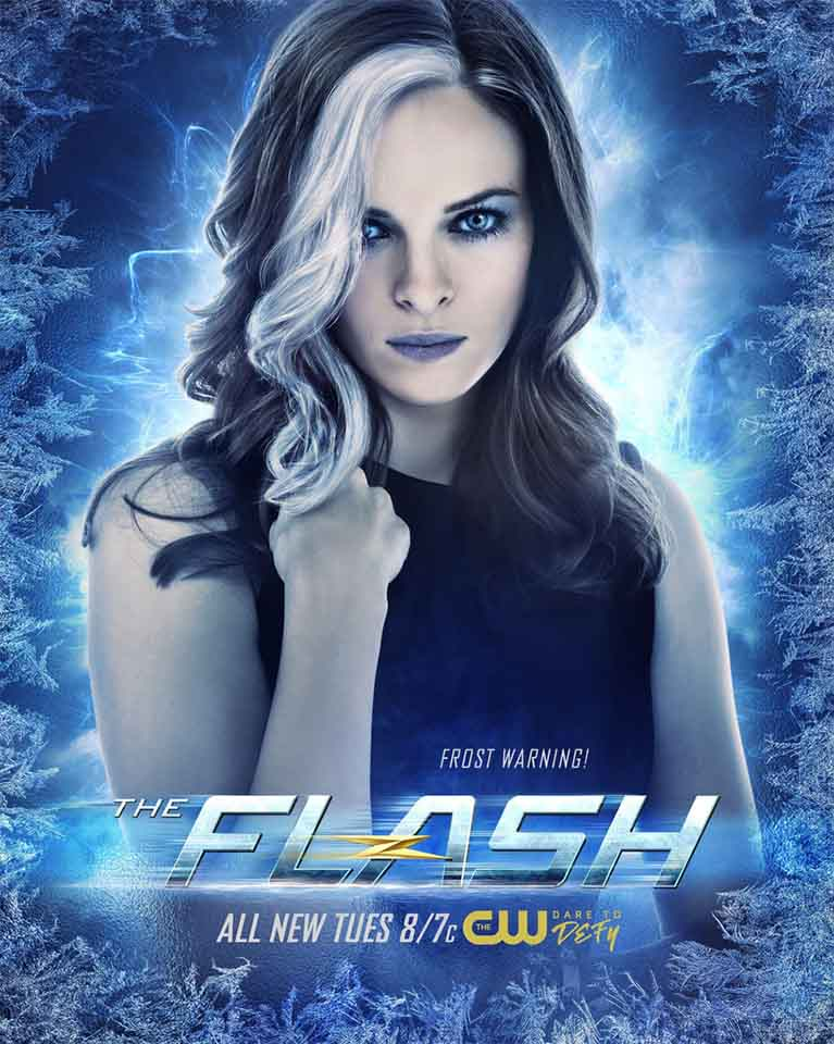 the flash killer frost poster