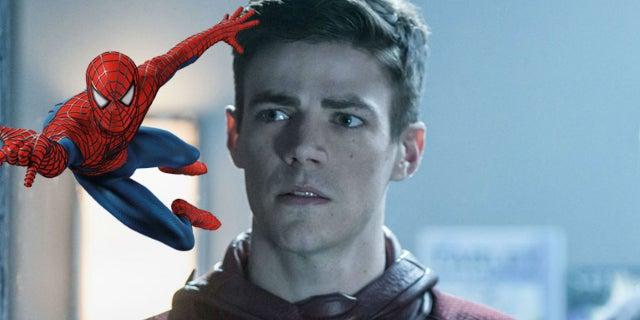 the flash spider man