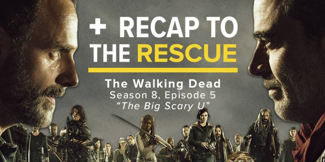 The Walking Dead 8x05 - Recap To The Rescue screen capture