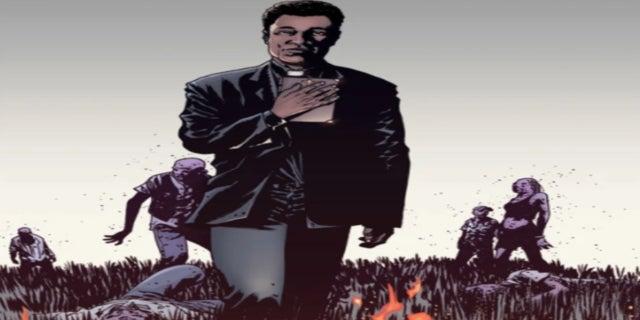 The Walking Dead Father Gabriel