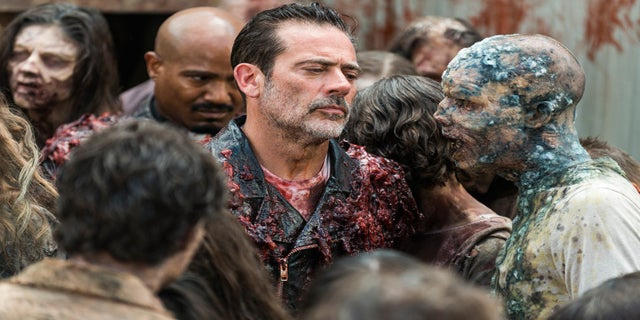 The Walking Dead Negan Father Gabriel