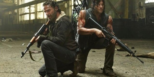 The Walking Dead Rick Daryl