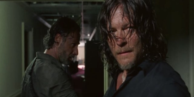 The Walking Dead Rick Daryl