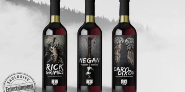 The Walking Dead Wine Lot18