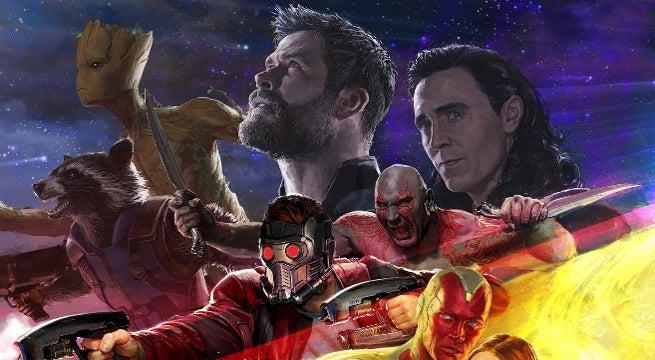 Thor Ragnarok Avengers Infinity War SDCC Trailer Continuity Error
