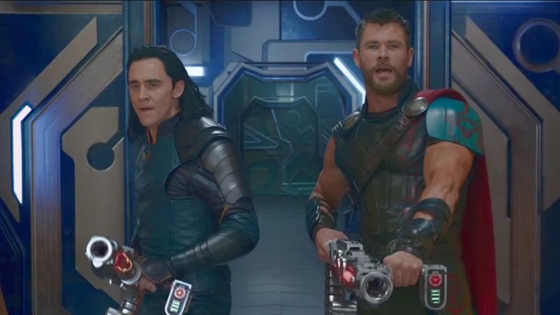 Thor Ragnarok Mid Credits Scene Thanos Spaceship