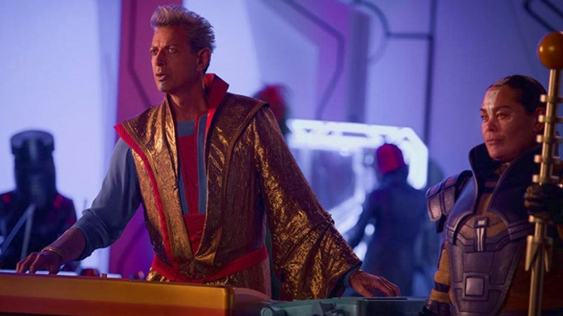Thor Ragnarok Post Credits Scene The Grandmaster Jeff Goldblum
