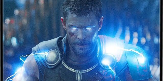 Thor Ragnarok Thunder powers eyes