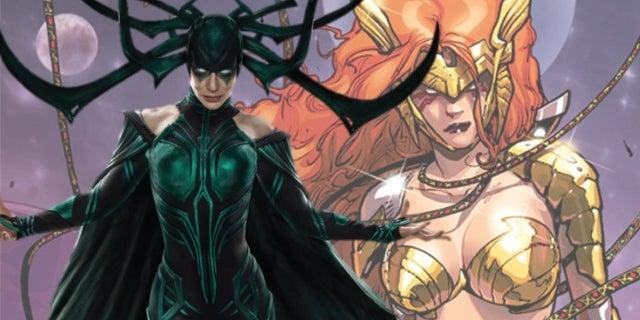 Thor's Sister Hela Angela