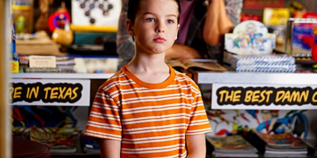 young sheldon comic book