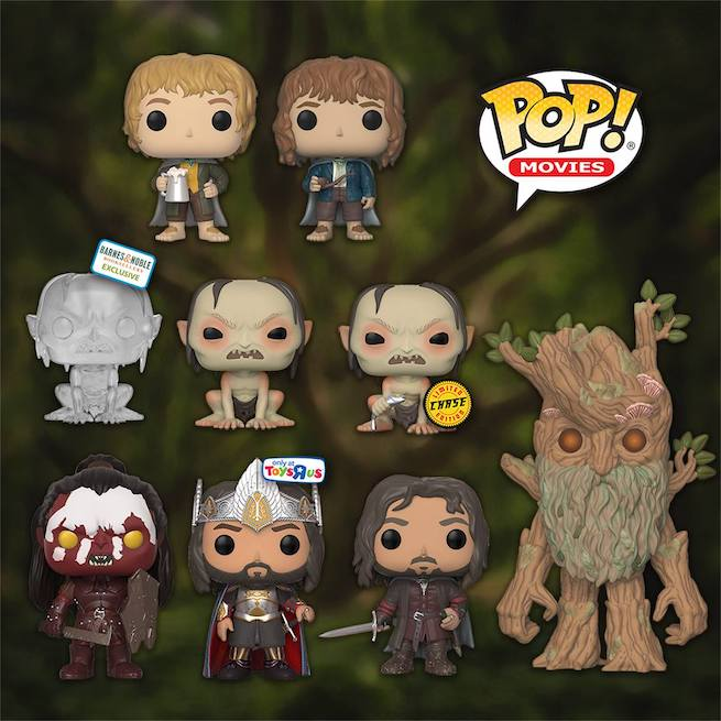 Lord Of The Rings Pop Funkos