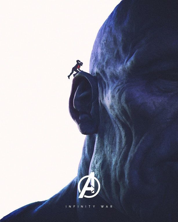 Ant-Man-Thanos-Avengers-Infinity-War-Poster
