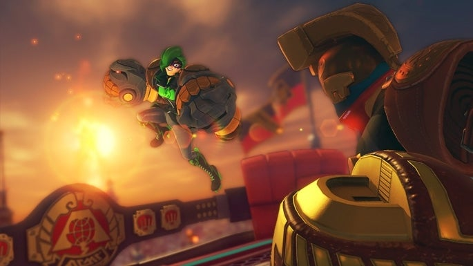 ARMS Gets Another New Fighter, Stage, and Update