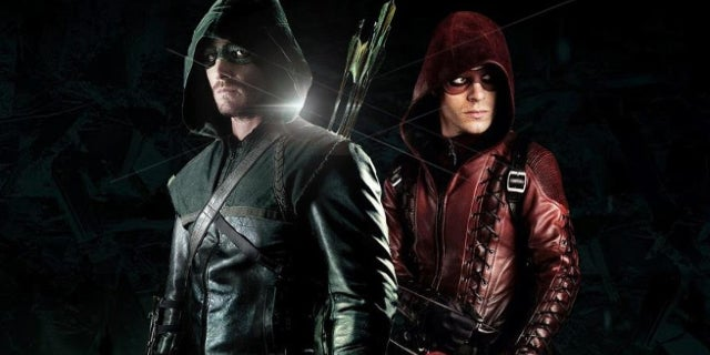 Arrow Season 6 Colton Hayne Roy Harper Arsenal