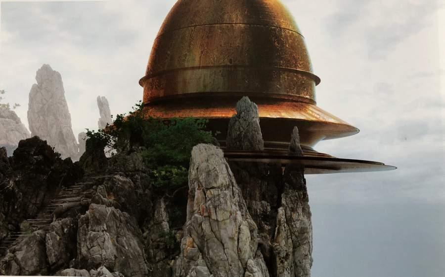 art-of-star-wars-the-last-jedi-ancient-temple