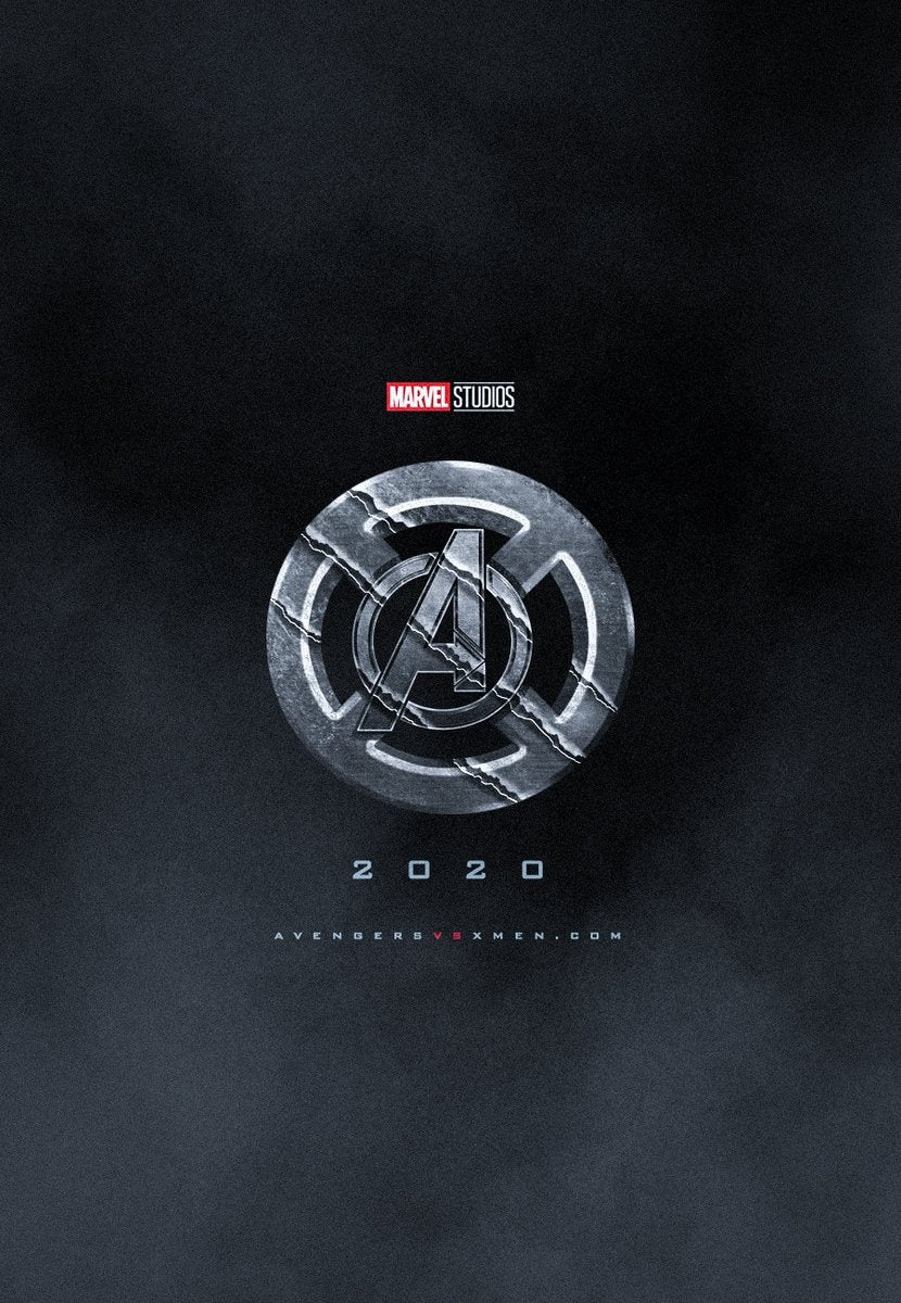 avenger vs xmen movie logo