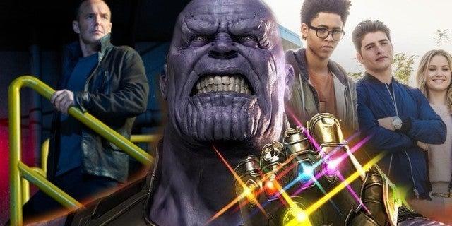 Avengers Infinity War Agents of SHIELD Runaways