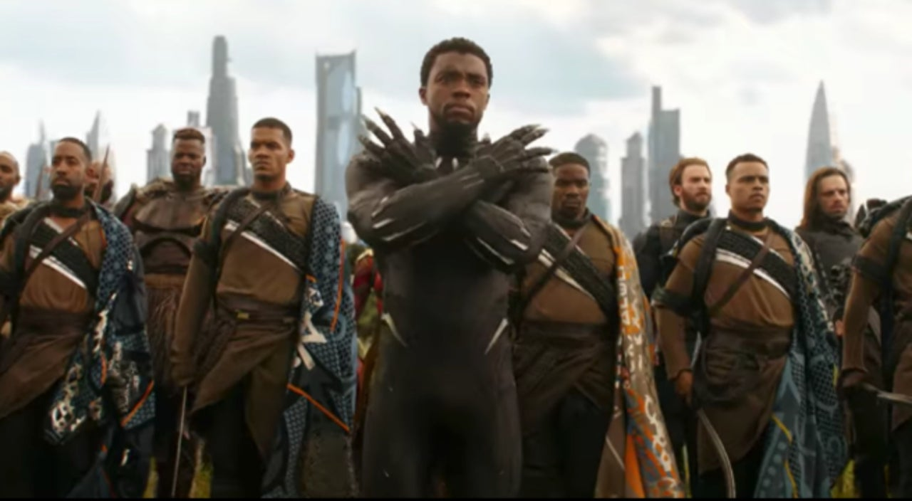 all 'black panther' characters confirmed for 'avengers: infinity war'