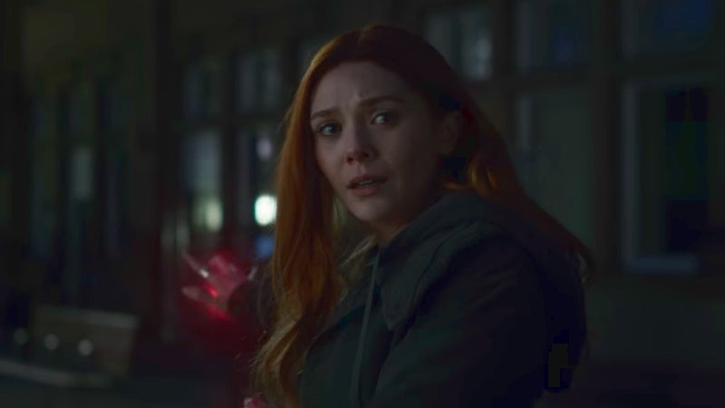 Avengers Infinity War Trailer Characters - Scarlet Witch