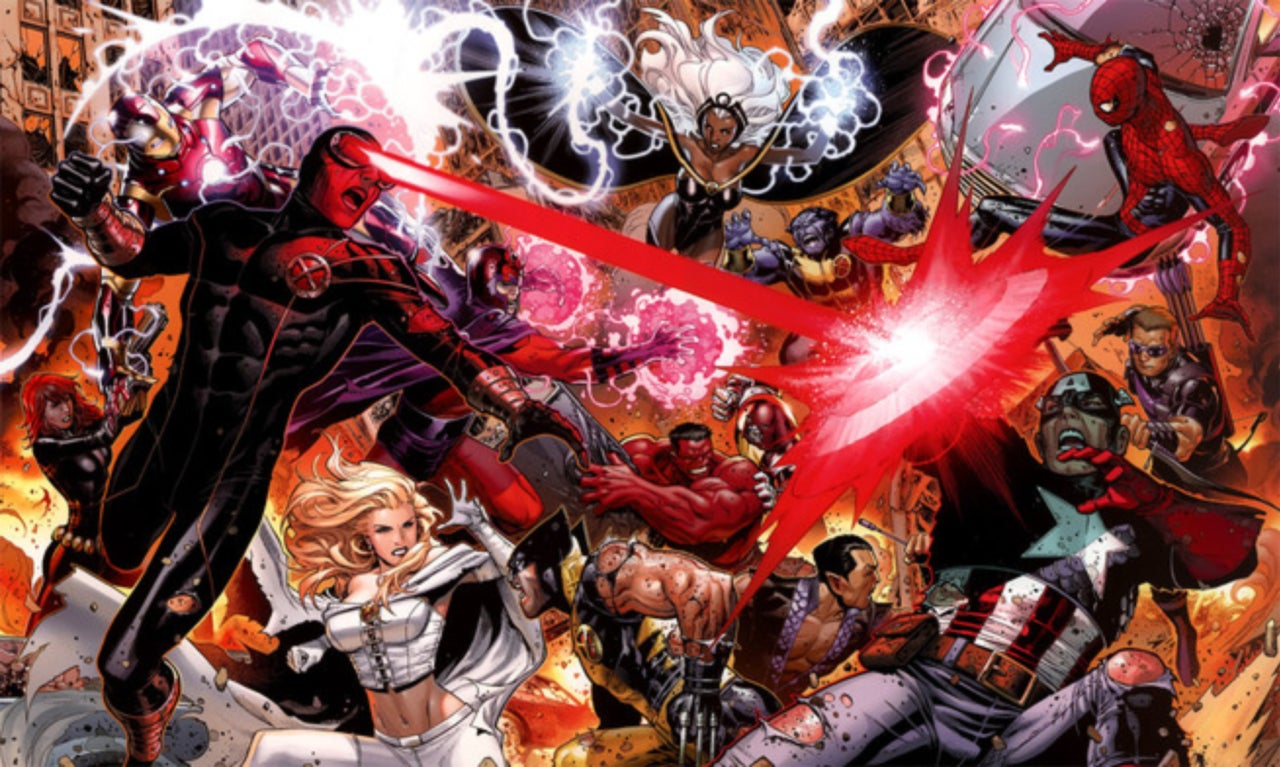 Image result for x-men vs avengers