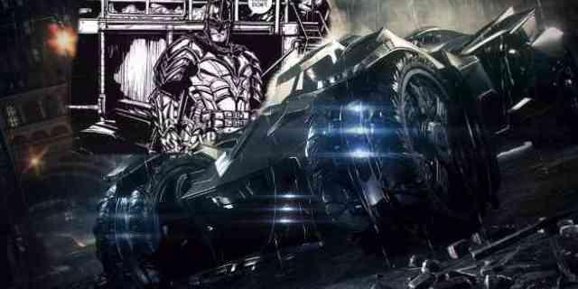 Batman 39 Arkham Knight Batmobile