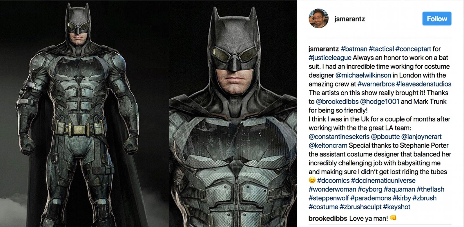 Batman Tactical Suit Concept Art Justice League