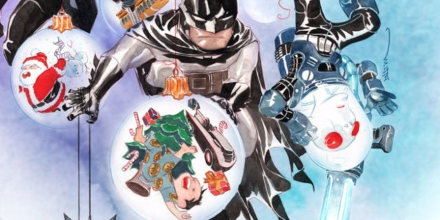 Best Superhero Christmas Comics - Cover