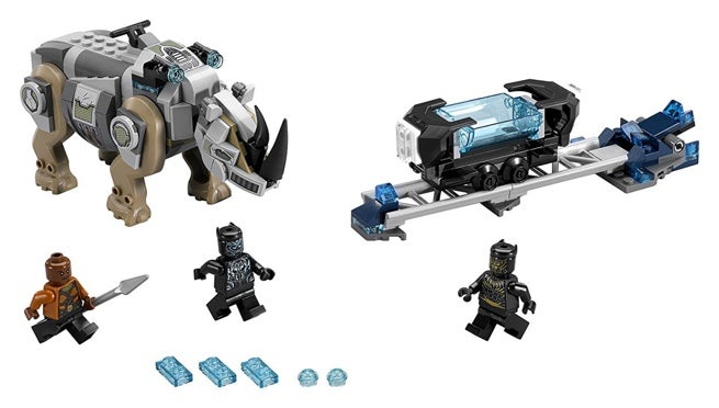 The First Two 'Black Panther' LEGO Sets Are Now Available to Order