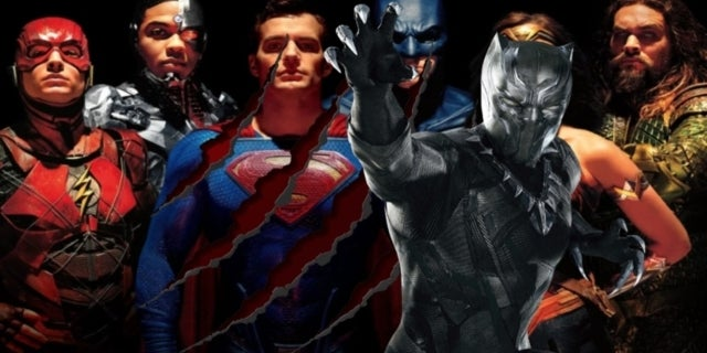 Black Panther Marvel Justice League comicbookcom