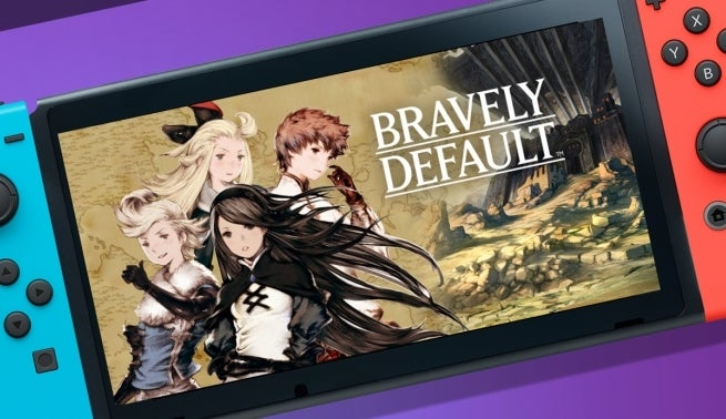 bravely default switch