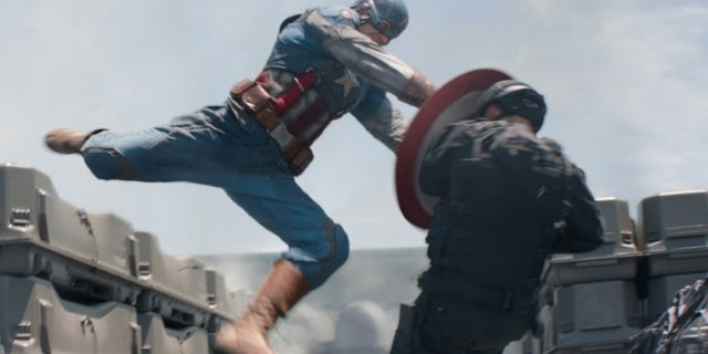Captain America SHIELD Parkour