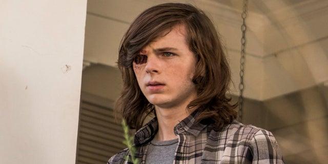 Carl Grimes Chandler Riggs hair