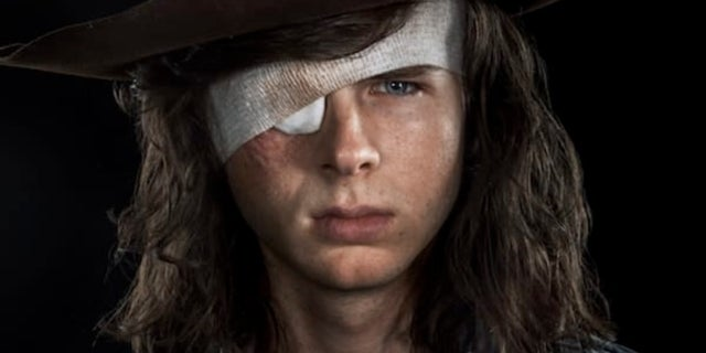 Carl Grimes The Walking Dead Season 8