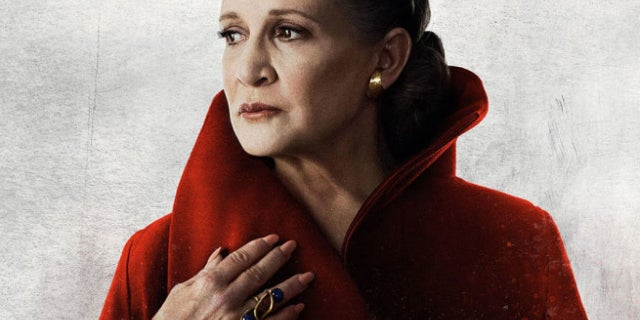 Carrie Fisher Princess Leia Star Wars The Last Jedi