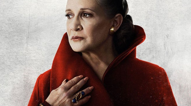Carrie Fisher's Dog Gary Watched 'Last Jedi' on Opening Night!