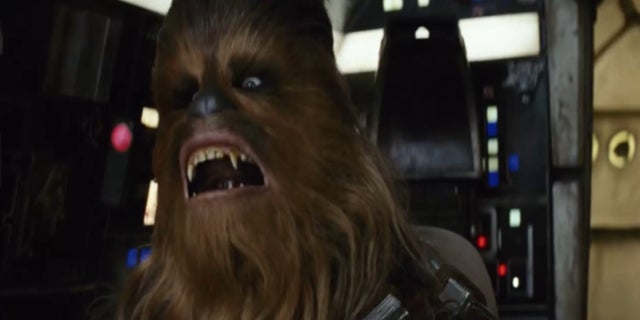 Chewbacca Star Wars The Last Jedi