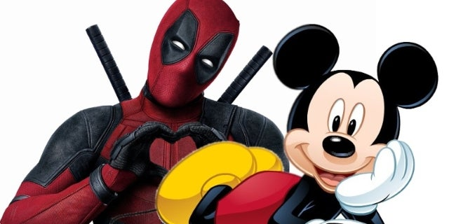 Deadpool Mickey Mouse