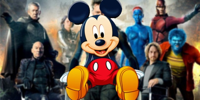 disney fox x-men